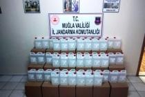 Bodrum'da Bin Litre Etil Alkol Yakalandı!