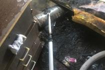Bodrum'da Elektrik Sobasından Yangın Çıktı: 1 Yaralı