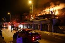 Bodrum'da Korku Dolu Anlar: Yangında 4 Ev Zarar Gördü!