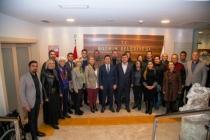 CHP Bodrum İlçe Yönetimi Başkan Aras'ı Ziyaret Etti