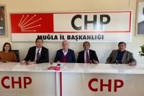 CHP Ortaca İlçe Teşkilatı Muğla İl Başkanlığı'nı Ziyaret Etti