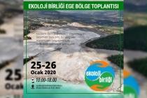 Ekoloji Birliği Ege Bölge Toplantısı Muğla'da Yapılacak
