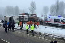 Iğdır'dan Bodrum'a Gelen Yolcu Otobüsü Devrildi: 33 Yaralı!