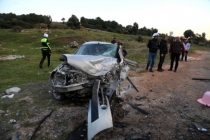 Milas'ta Yaşanan Kazada 4 Kişi Yaralandı