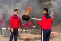 Muğla'da İtfaiye Erleri Komando Eğitimiyle Hazırlanıyor!