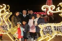 Muğlalılar Cumhuriyet Meydanı'nda Yeni Yılı Kutladı