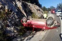 Sakartepe Rampasında Trafik Kazası!