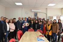 Başkan Tokat'tan Okullara Ziyaret