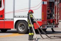 Bodrum'da Bir Otel Deposunda Yangın Çıktı!