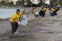 Bodrum'da Gönüllüler Çevre Temizliği Yaptı!