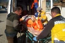 Milas'ta Vücudu Yanan Kadın Ambulans Uçakla İstanbula Götürüldü!