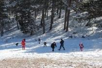 Muğla'da Yarım Saat Arayla Kar ve Deniz Keyfi!