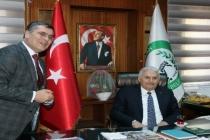 Son Başbakan Binali Yıldırım Başkan Toksöz'ü Ziyaret Etti