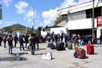 Bodrum'da, Memleketlerine Dönmek İsteyen İşçiler İçin Özel Seferler