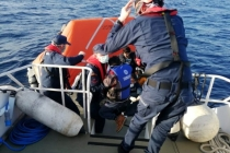 Datça Açıklarında Yardım İsteyen 31 Sığınmacı Kurtarıldı