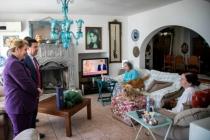 Fatma Girik, Evde Kalın Çağrısına Destek Verdi