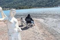 Kızkumu Plajı'nın Heykeli Sahipsiz Kaldı!