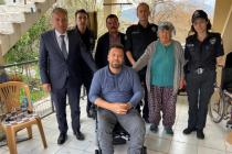 Ortaca İlçe Emniyet Müdürü'nden Engelli Vatandaşa Anlamlı Ziyaret