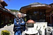 Tarihi Arasta Çarşısı'ndaki Şadırvanın Maketini Yaptı