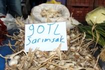 Virüs Pazarı da Vurdu: Sarımsağın Kilosu 90 Liraya Yükseldi!