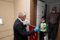 112 Acil Çağrı Merkezinden Türk Bayrağı İstediler