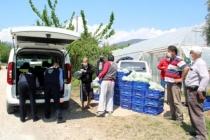 Fethiyeli Üretici 400 Kilo Sebzeyi Yardıma Muhtaç Ailelere Bağışladı