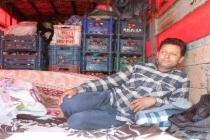 Menteşe'de Pazarcı Esnafı Kamyon Kasasında Mahsur Kaldı