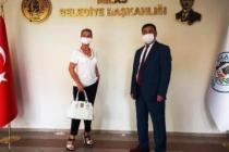Milas'a Yerleşen Seda Sayan Başkan Tokat'ı Ziyaret Etti!