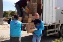 Muğla'da İhtiyaç Sahiplerine Gıda ve Hijyen Paketleri Dağıtılıyor