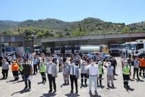 Başkan Aras Bodrum'da Görevli Personelleri Ziyaret Etti