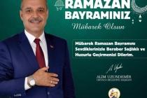 Başkan Uzundemir'den Ramazan Bayramı Mesajı