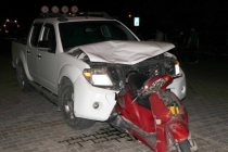 Fethiye'de Korkunç Kaza: Motosiklet Otomobile Ok Gibi Saplandı!