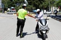 Muğla'da Sürücülere Broşür Dağıtıldı