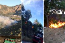 Ortaca'da Çıkan Orman Yangınında 2 Hektar Alan Zarar Gördü