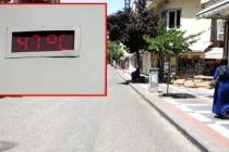 Şanlıurfa'nın Siverek İlçesinde Termometreler 47 Dereceyi Gösterdi
