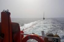 Sürüklenen Tekne Kıyı Emniyeti Tarafından Kurtarıldı