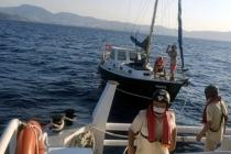 Bodrum Açıklarında Arızalanan Tekne Kurtarıldı