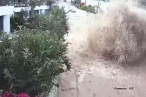 Bodrum'da İçme Suyu Hattı Patladı: Araçlar Son Anda Kurtuldu!