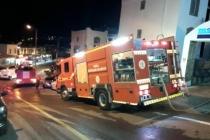 Bodrum'da Otel Çatısında Yangın