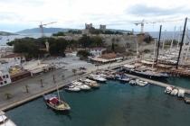Bodrum Yat Limanı Altyapı ve Meydan Düzenlemesi Tamamlanıyor
