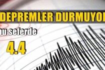 Muğla'nın Marmaris İlçesinde 4,4 Büyüklüğünde Deprem