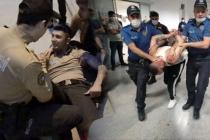 Önce Bekçiye Çarptı Ardından Polis Memurunu Yaraladı!