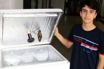 Ortaokul Öğrencisi Tek Kullanımlık Maskeler için Cihaz Geliştirdi