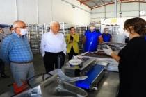 Başkan Gürün 'Meyve-Sebze Kurutma' Tesisini Gezdi
