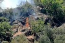 Bodrum'da Makilik Alanda Çıkan Yangın Söndürüldü