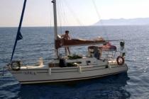 Fethiye'de, Makine Arızası Yapan 5 Kişilik Tekne Kurtarıldı