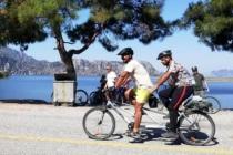 Görme Engelli Bisikletçiler, Ortaca'da Kampta
