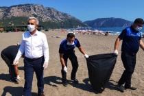 Haberimizden Sonra Kayacık Sahili Temizlendi