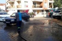 Marmaris'te Temizlik Ekipleri Çalışmalarını Sürdürüyor