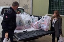 Muğla Büyükşehir Belediyesi 'Mor Yaşam' İle 1065 Adet Hijyen Paketi Dağıttı